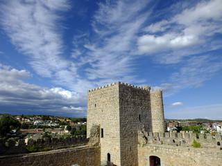 castillo de la coracera en san martin de valdeiglesias