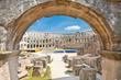 Roman amphitheatre (Arena) in Pula. Croatia.