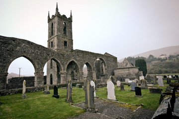 Historic 12th century Baltinglass Abbey, Wicklow Ireland