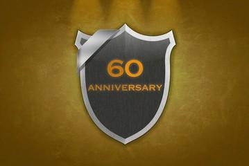 60 Anniversary.