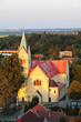 Aerial view catholic church - Cifer