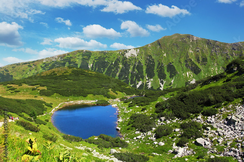 Slovakia mountain lake - Rohacske plesa, West Tatras