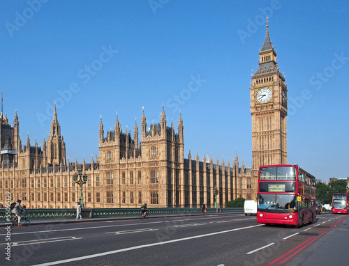 Big Ben and Westminster Bridge,