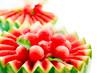 Watermelon. Fruit Salad. Fresh and Ripe Watermelon Balls
