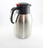 Metal Kettle On white background
