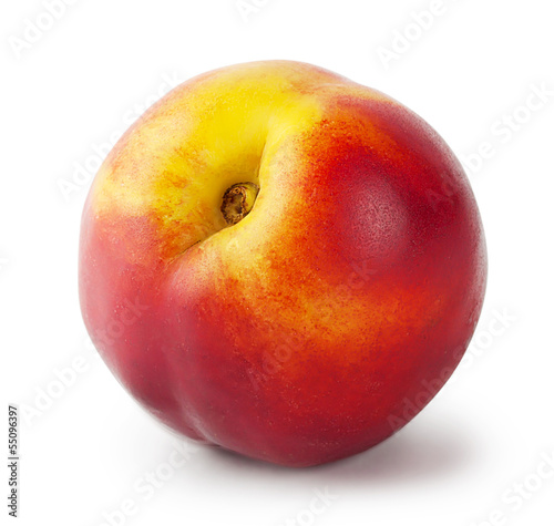 Ripe juicy nectarine