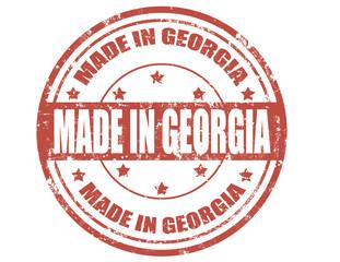 Made in Georgia-stamp