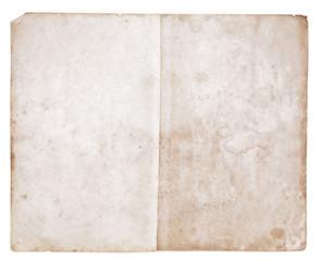 alte Papierblätter.