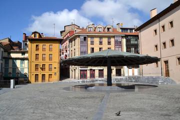 Plaza del Paraguas en Oviedo