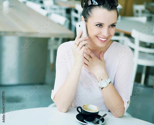 Amazing girl with fabuolus smile