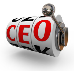 CEO Chief Executive Officer Search Recruitment Slot Machine