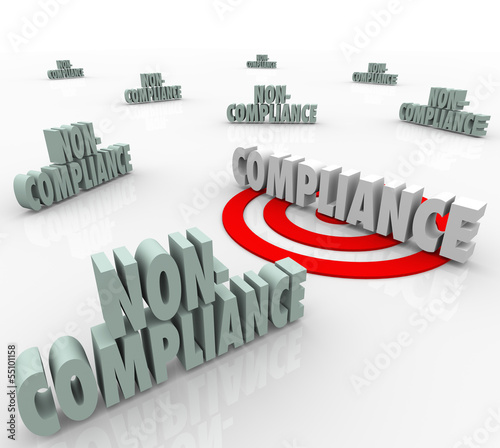 Compliance Vs Non Compliant Words Targeting Goal