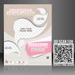 Vector Ice Cream Store Flyer Poster Magazine Cover