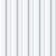 Abstract seamless white ribbed wall