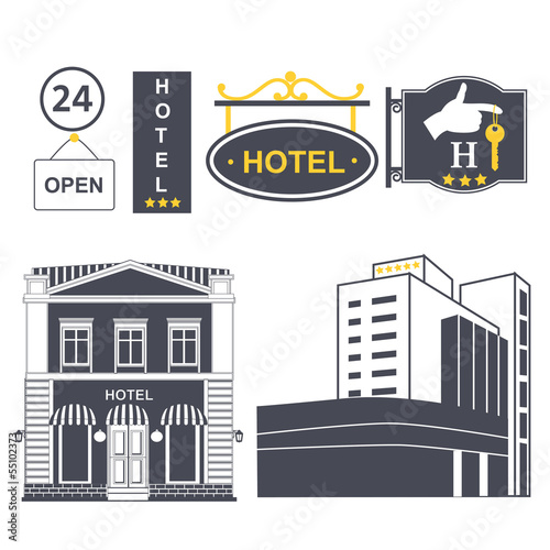 icons of hotels