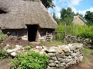 Maison typique du Moyen-Âge