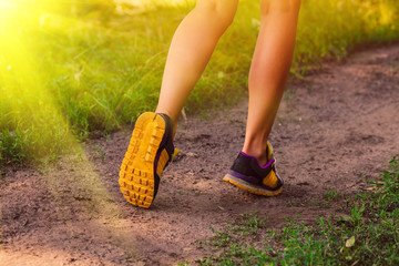 sunlight sports a shoes female large legs running, exercising an