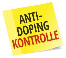 Anti-Doping Kontrolle