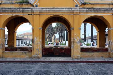 Arcos Tanque La Unión, Antigua Guatemala