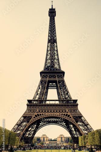 Eiffel Tower in Paris. France - 55105996
