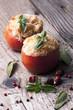 pomodori ripieni di riso e verdure