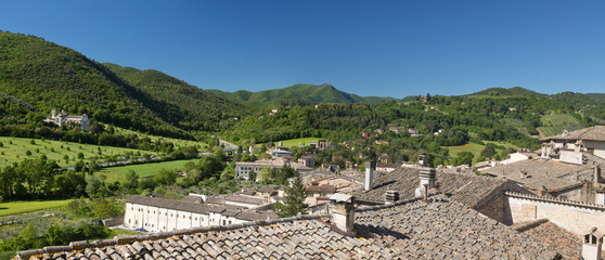 Spoleto countryside