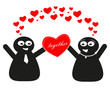 Liebe, für immer zusammen, together