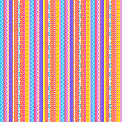 Intricate Pastel Stripes Pattern