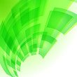 Abstract green digital background