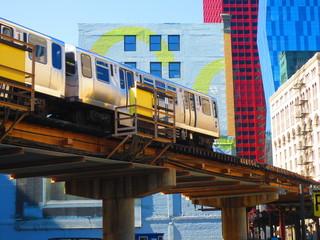 Hochbahn in Chicago