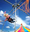 child fun at state fair
