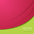 Abstract vector magenta green Background with copyspace