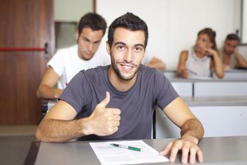 Erfolgreicher Student