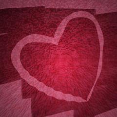 Herz mit rosa Hintergrund - Struktur