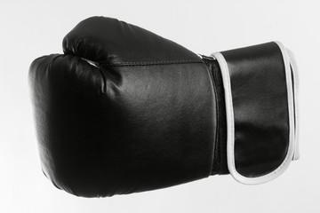 schwarzer Boxhandschuh
