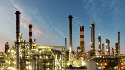 Gas refinery, Oil industry