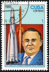 Soviet space rocket designer, Sergei Pavlovich Korolev