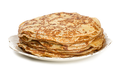 fresh thin pancakes