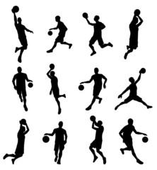 American football sport silhouettes