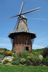 Restored working windmill