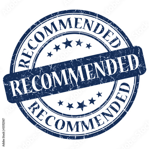 Recommended Blue Stamp