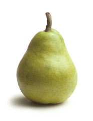 Bartlett Pear on White
