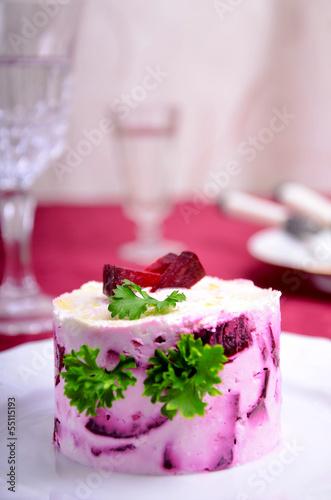 Appetizer of beet
