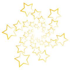 Sterne Strudel - Feuerwerk sylvester