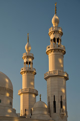 Minarette in der Abenddämmerung