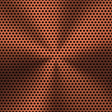 Bronze Textured Background with Circular Pattern