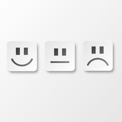 Paper smilies