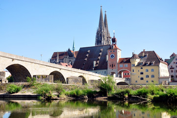 Old Town of Regensburg, Germany