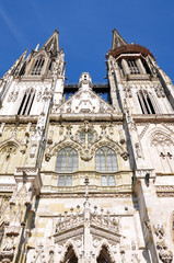 St. Peter's Cathedral, Regensburg, Germany