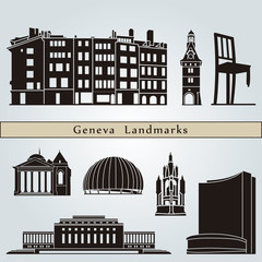 Geneva landmarks and monuments